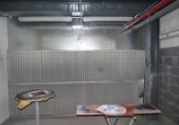 Вытяжка для покрасочной комнаты на улице Модеин в Петах-Тикве