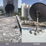 Изоляция крыши с разборкой, сборкой бойлеров и уборкой.