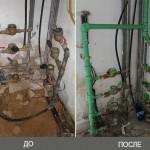 Замена центральной линии водопровода на улице Эли Коэн в Бат Яме